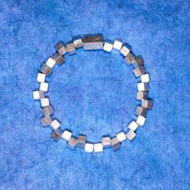 Armband Vågbrytare 5 mm, silver