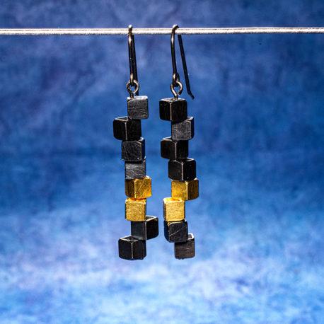 Örhängen Vågbrytare 5 mm ox fg
