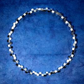 Halsband Vågbrytare 5 mm, silver
