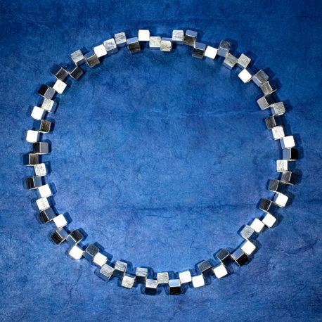 Halsband Vågbrytare 7 mm silver