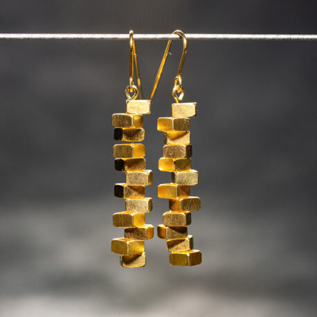 Earrings_Brakewater_Discs_Gilt_Niklas_Ejve