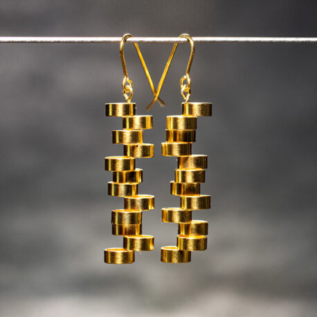 Earrings_Bubbles_Gilt_Niklas_Ejve